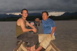 11h30 Hors des sentiers battus en Amazonie avec Nicolas