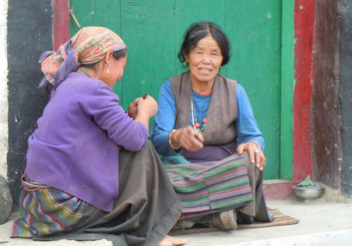 Sur la route du Mustang (Népal) 11h30